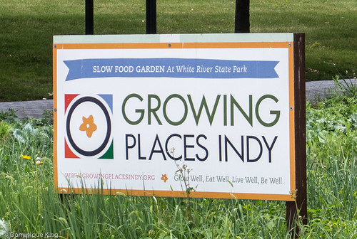Wishard Slow Food Garden, Indianapolis, Indiana, White River State Park