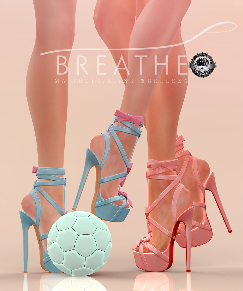 [BREATHE]-Elise Heels@C88 - SecondLifeHub.com