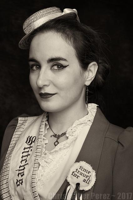 Suffragette ~ Mona Longueville ~ Paris, France