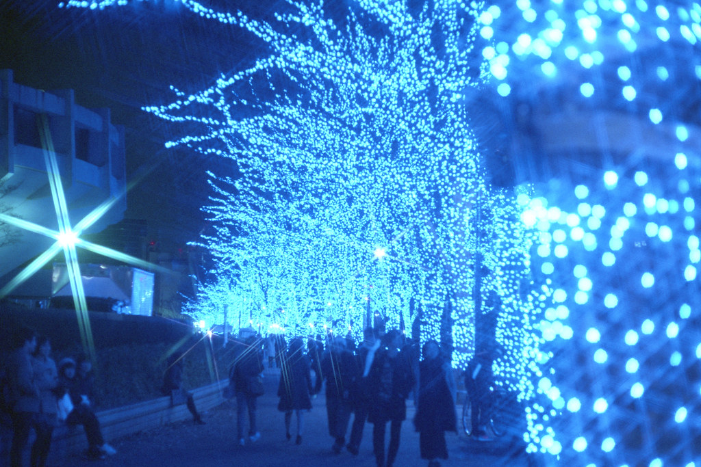town dyes blue /Blue Grotto SHIBUYA