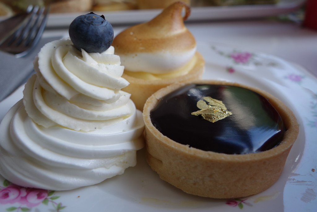 BB Bakery Gluten Free Afternoon Tea Tour - Meringues, Chocolate Tart