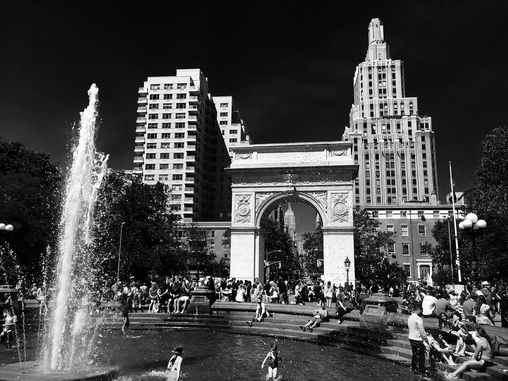 Summer in Washington Square Park