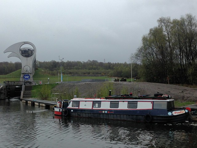 Canal Boats at Falkirk