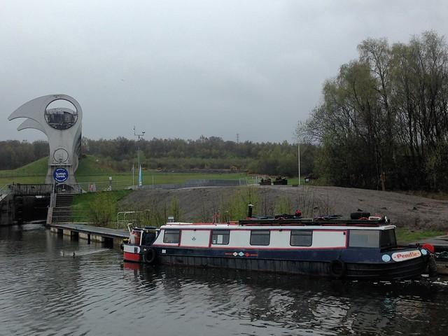 Canal Boats at Falkirk
