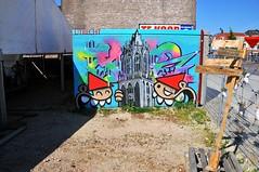 Mural Westplein Utrecht