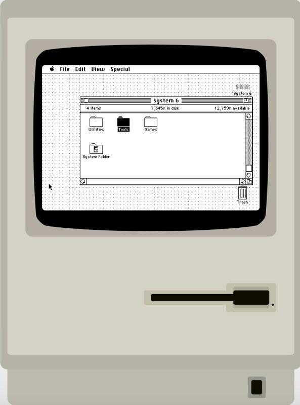 System 6 Mac Classic
