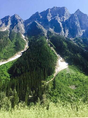 Glaciers close to Banff