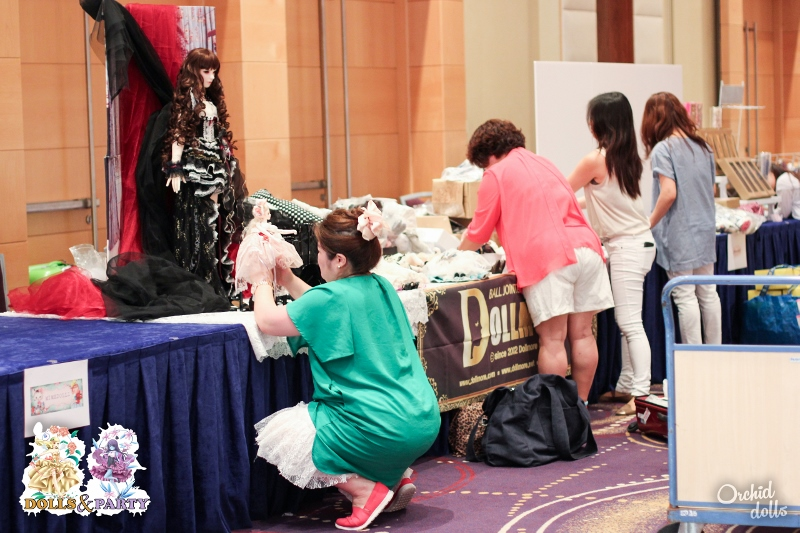 Dolls&Party 2015 Booth Assembly