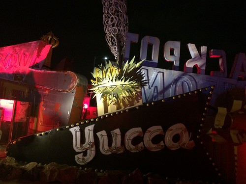 The Yucca at the Neon Museum