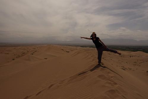 Les dunes de sable de Zhangye
