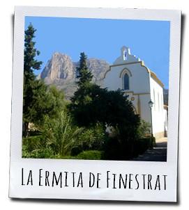 Het kerkje boven op de heuvel dat gebouwd werd ter ere van Cristo del Remedio