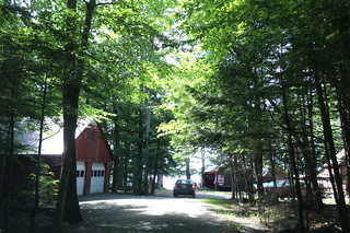 Maine - Lake Pushaw cabin