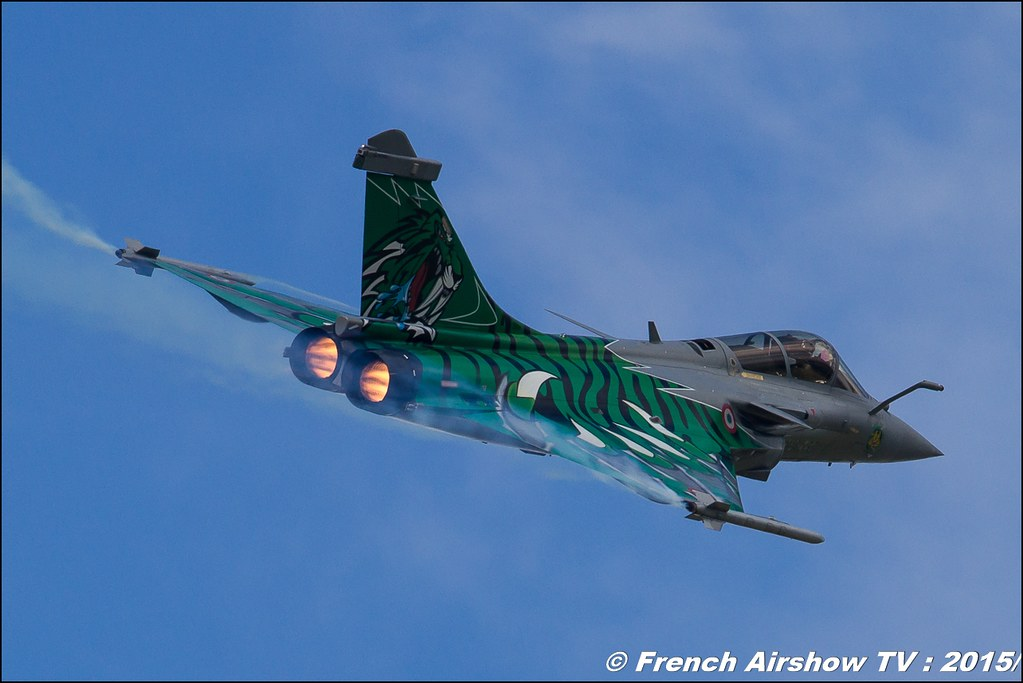 Rafale Solo Display 2015, Dassault Aviation, Rafale Tiger Meet 2015, Rafale Armée de l'air , Ambassadeur Armée de l'air, Rafale Display Team, BA-116 Luxeuil , Meeting Aerien 2015