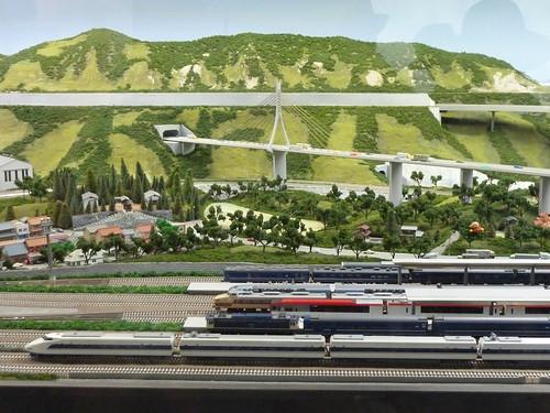 碓氷峠 鉄道文化むら 鉄道ジオラマ
