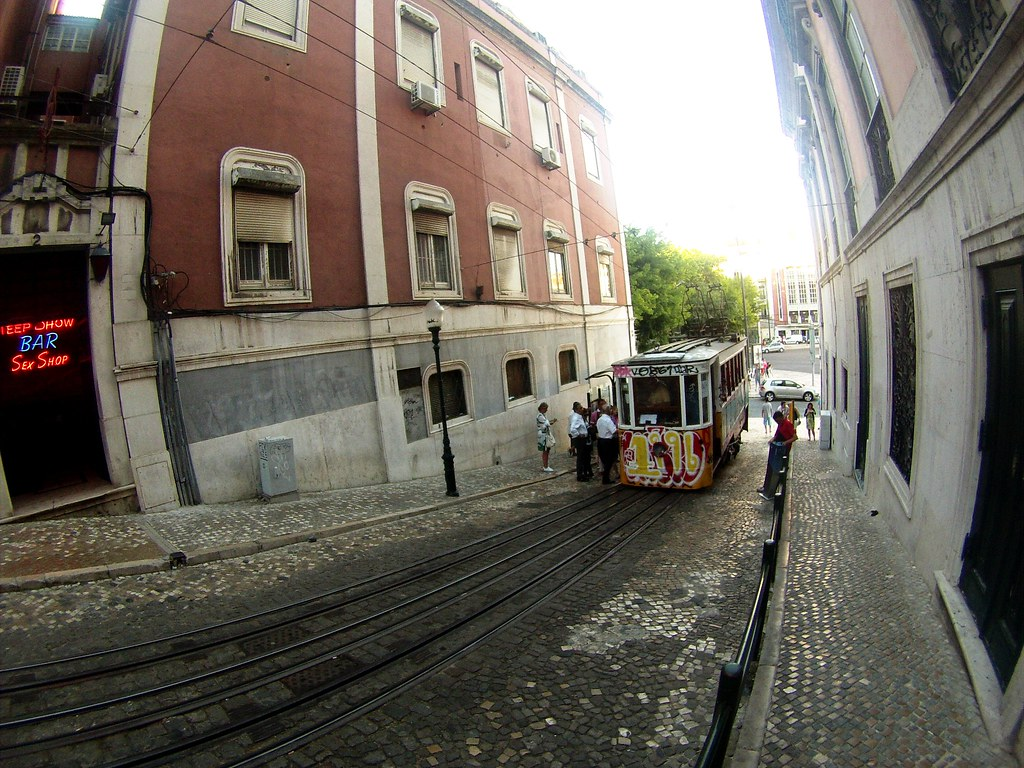 Out Exploring Lisbon, Portugal and Saw this Tram.