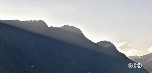 Le prime ombre della sera, Lake Como