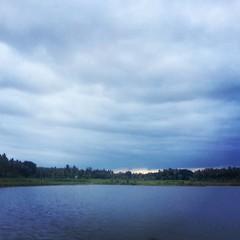 #lake #sunset #mysore #india #incredibleindia