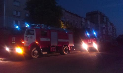 Цієї ночі трапилася пожежа у франківській багатоповерхівці