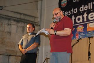 Rutigliano- Nona edizione della Festa dell'Unitalsi di Rutigliano-rutiglianoweb--Don Michele Petruzzi e Gianni Capotorto