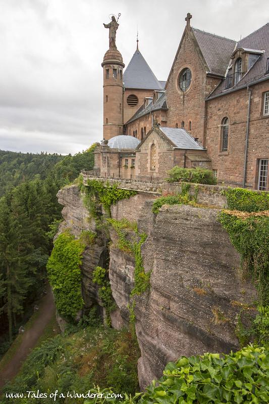 OTTROT - Mont Sainte-Odile - Abbaye de Hohenbourg