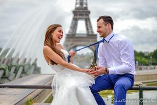 Julia and Misha  - свадьба в Париже