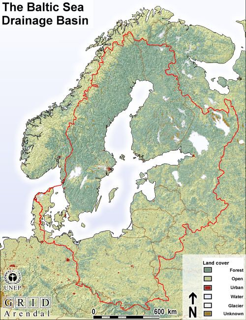 Land Cover Baltic Sea Region Grid Arendal