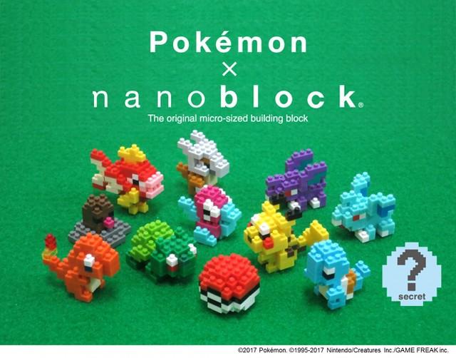 nanoblock 迷你精靈寶可夢系列 ミニポケットモンスターシリーズ