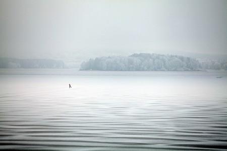 Lipno Ice Marathon startuje za dva týdny. Zamrzlé Lipno čeká na závodníky