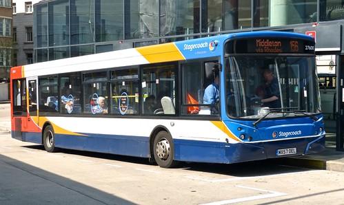 MX57 OEL 'Stagecoach Manchester' No. 27600 Transbus Enviro 300 / Transbus Enviro 300 on Dennis Basford's 'railsroadsrunways.blogspot.co.uk'