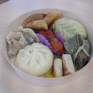 Steamed basket from Loving Hut