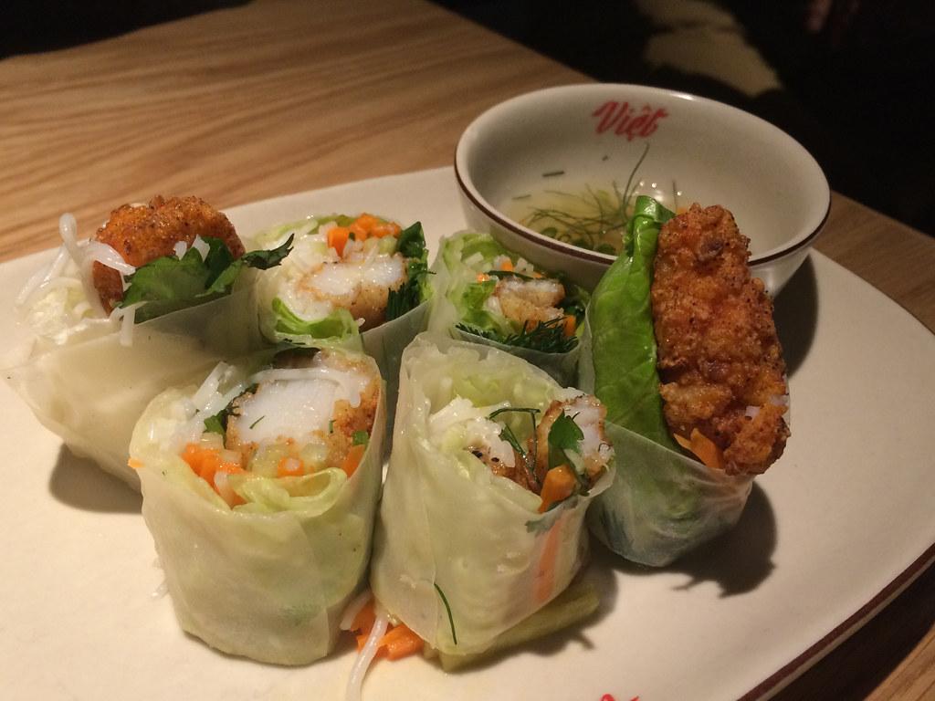 Viet Kitchen - Sole Fillet Rice Paper Roll