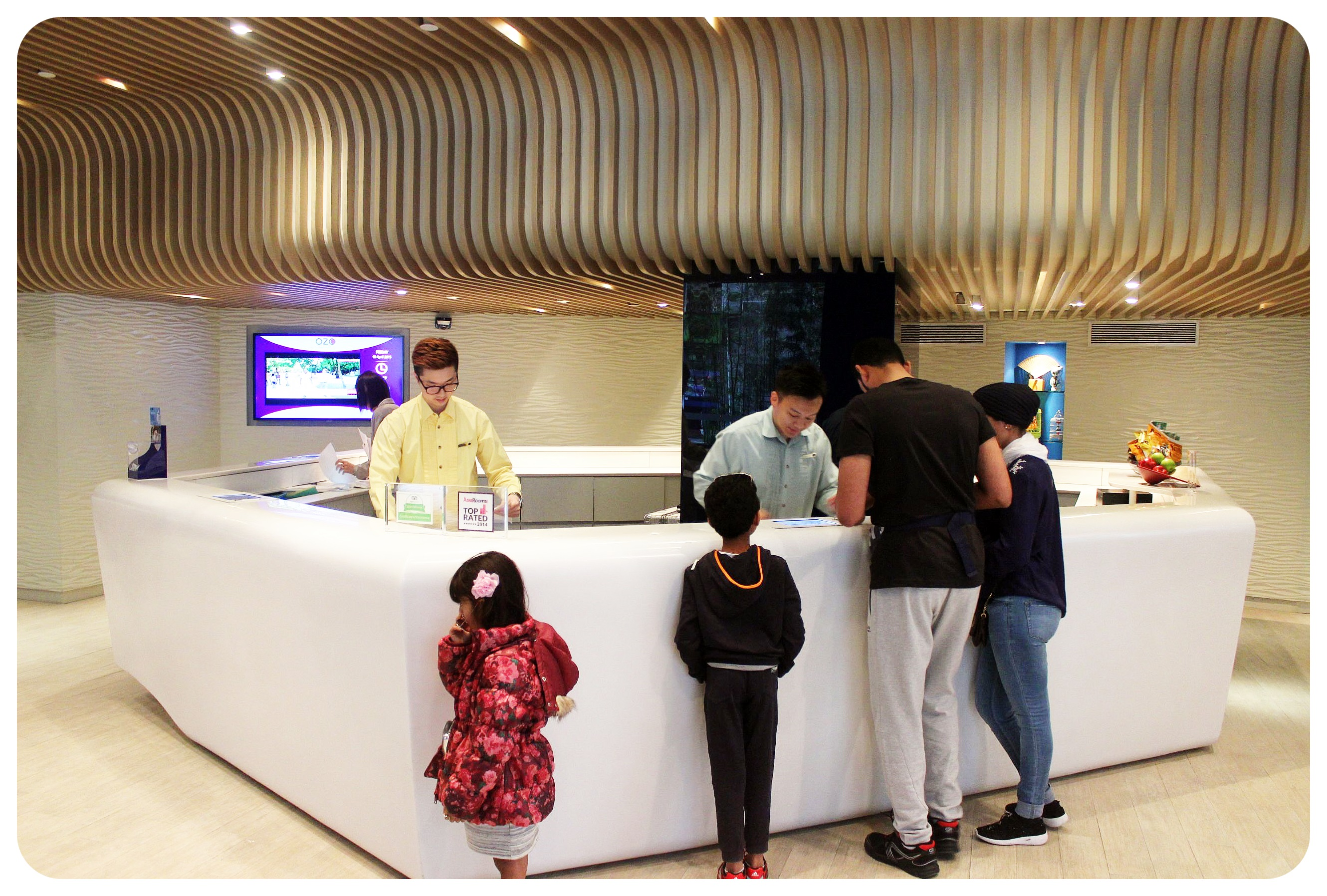 ozo wesley hong kong check-in