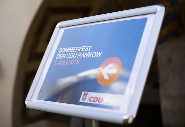 Sommerfest CDU Pankow 2015