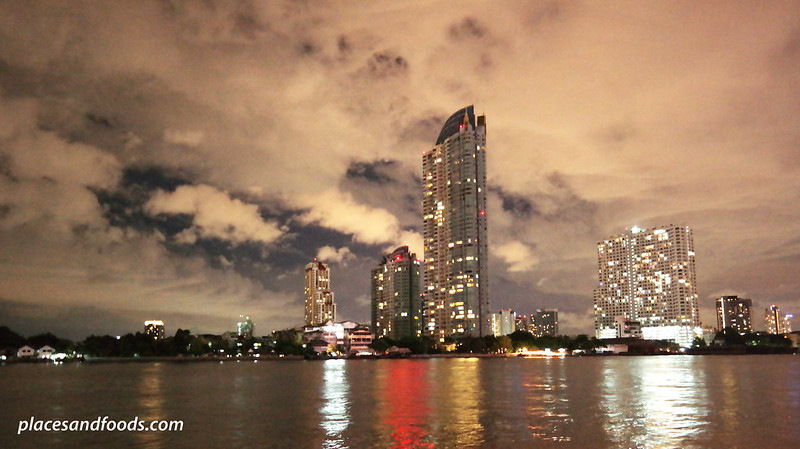 asiatique the riverfront chao phraya night view