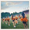 #bclions #felions dance team at #UBC #CFL #football