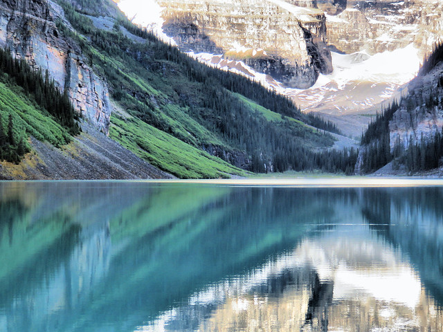 Lake Louise reflections HDR 6-20150620