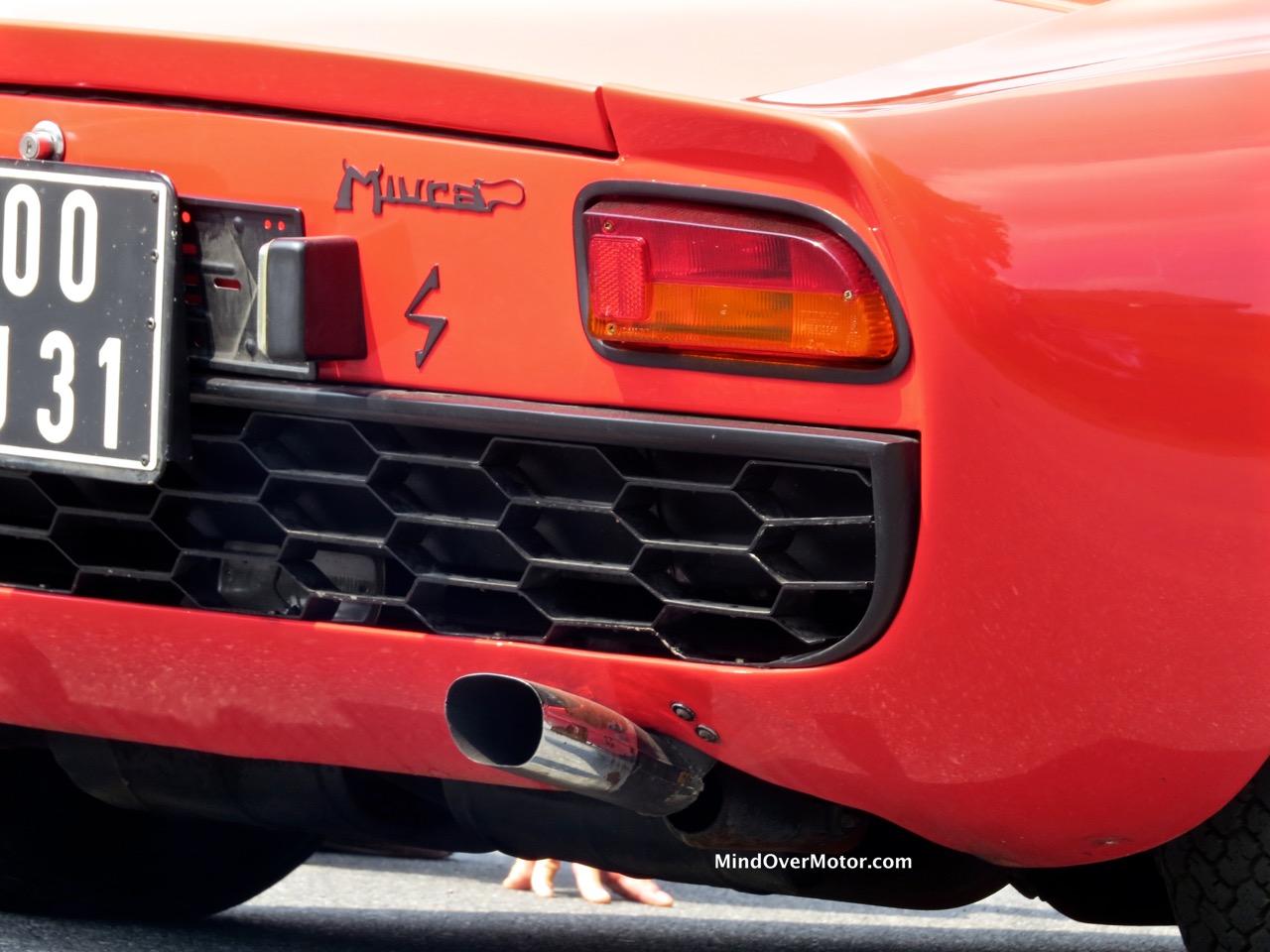 Lamborghini Miura P400S Taillight