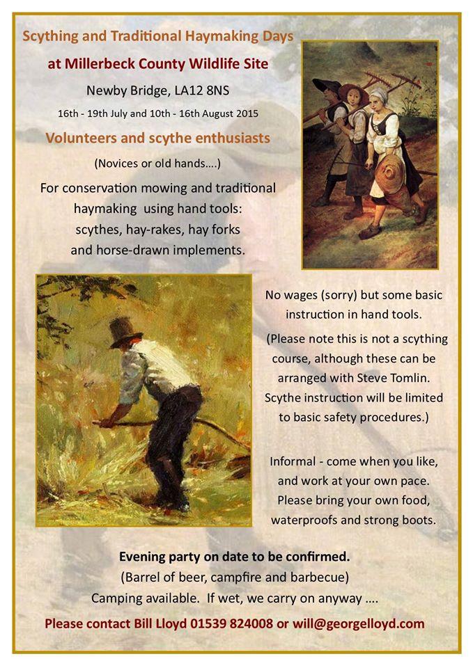 Millerbeck Scything poster