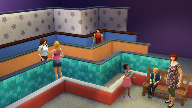 The Sims 4 Blog Locked Doors Amp Half Walls Coming Today