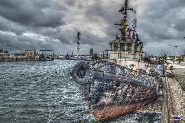 Coastal tugboat Mahery Ostend