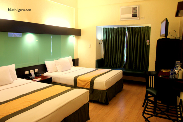 Microtel Cabanatuan Deluxe Two-Queen Bed Room