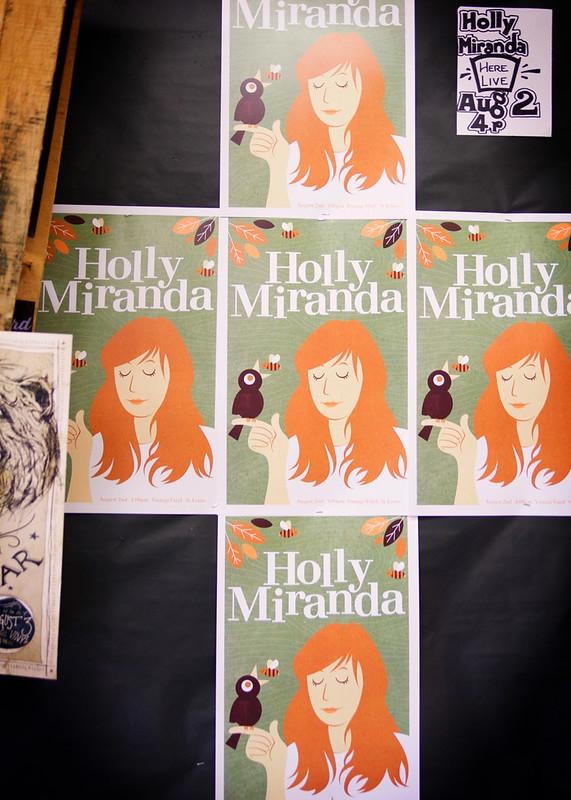 Holly Miranda @ Vintage Vinyl