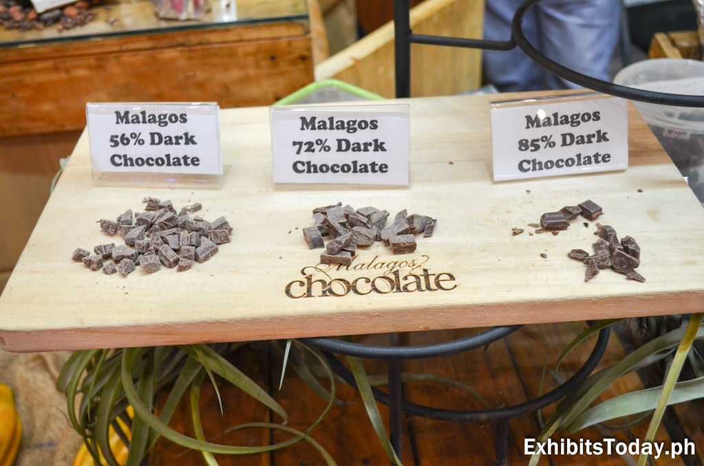 Malagos Dark Chocolate for free taste