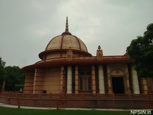 A side view of main Shikhar