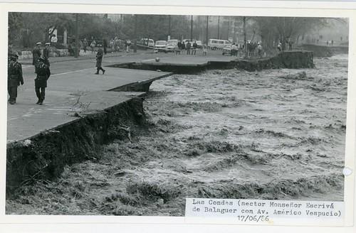 Chile 1986 - Catástrofes naturales