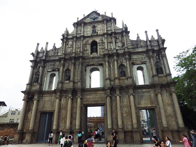 façade Macao