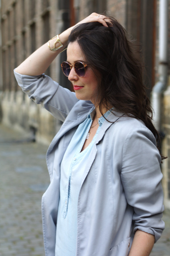 Dove grey blazer