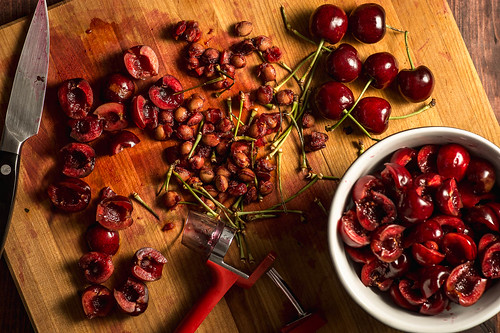 Food Photography  | Cherry Massacre