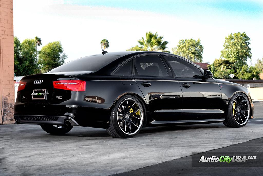 Audi A6 3 0 Supercharged On 20 Quot Lexani R Twelve Wheels