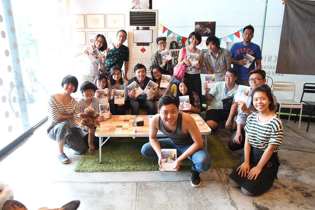 2015.06.14 高雄-歐北來x有野餐《我在西藏曬靈魂-新書分享會》